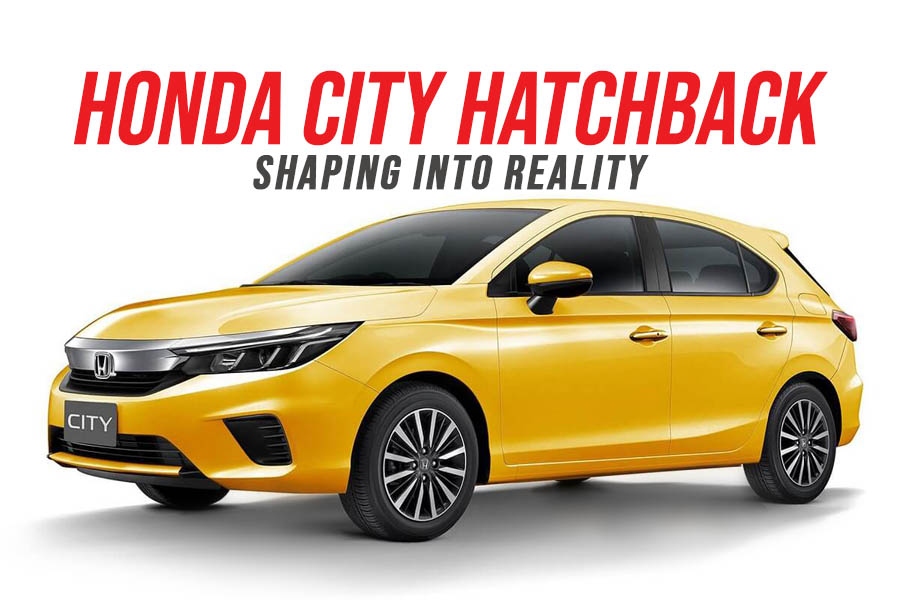 Honda City Hatchback Shaping into Reality 6