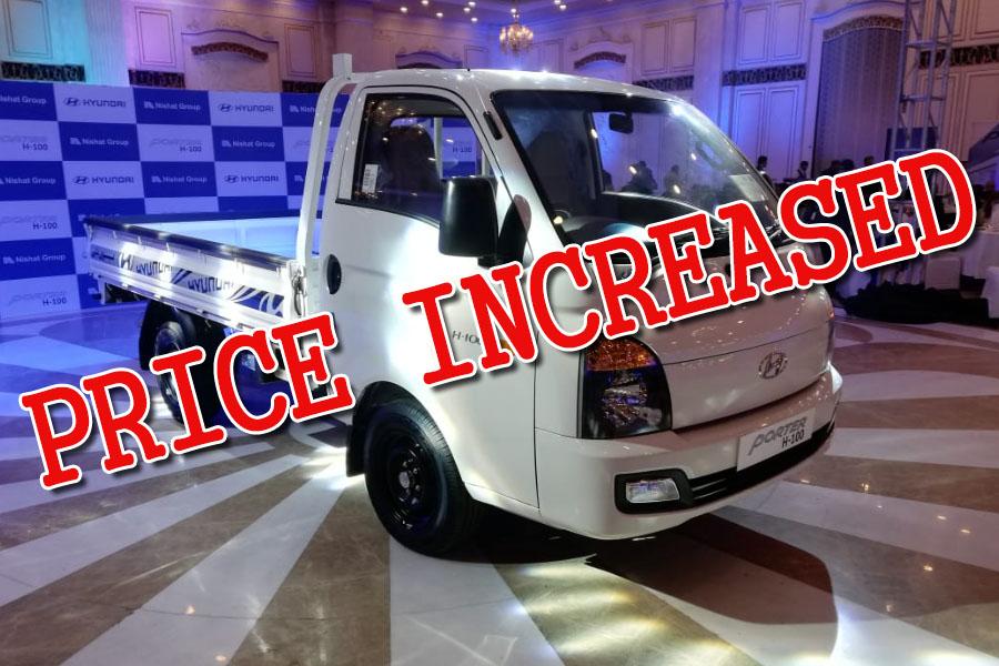 Hyundai-Nishat Increases Porter H-100 Prices 1