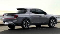 Renderings: Hyundai Santa Cruz Pickup Truck 3