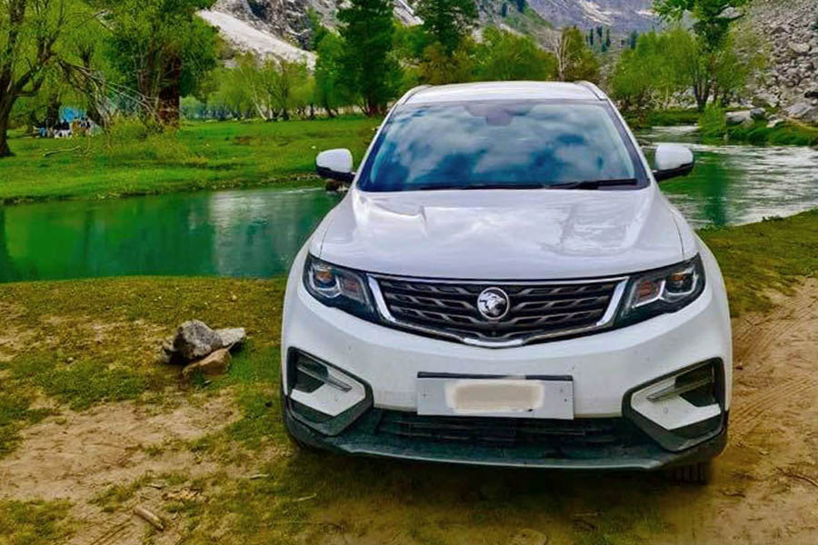 Proton X70 Sheds Off Its Camouflage 1