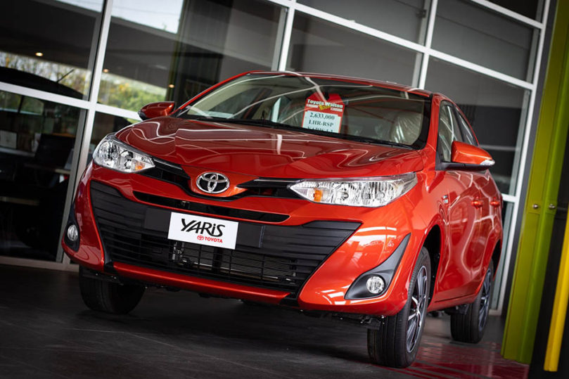 History: Toyota Yaris All Generations 30