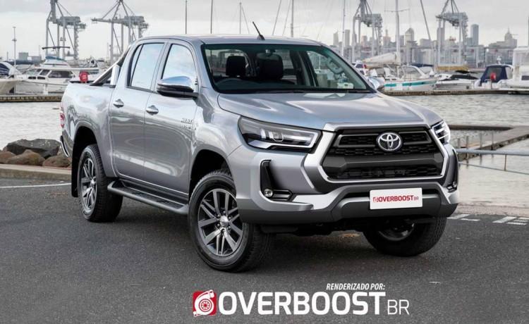 Renderings: 2020 Toyota Hilux Facelift 10
