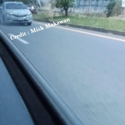 Honda City Hatchback Spotted Testing in Thailand 2