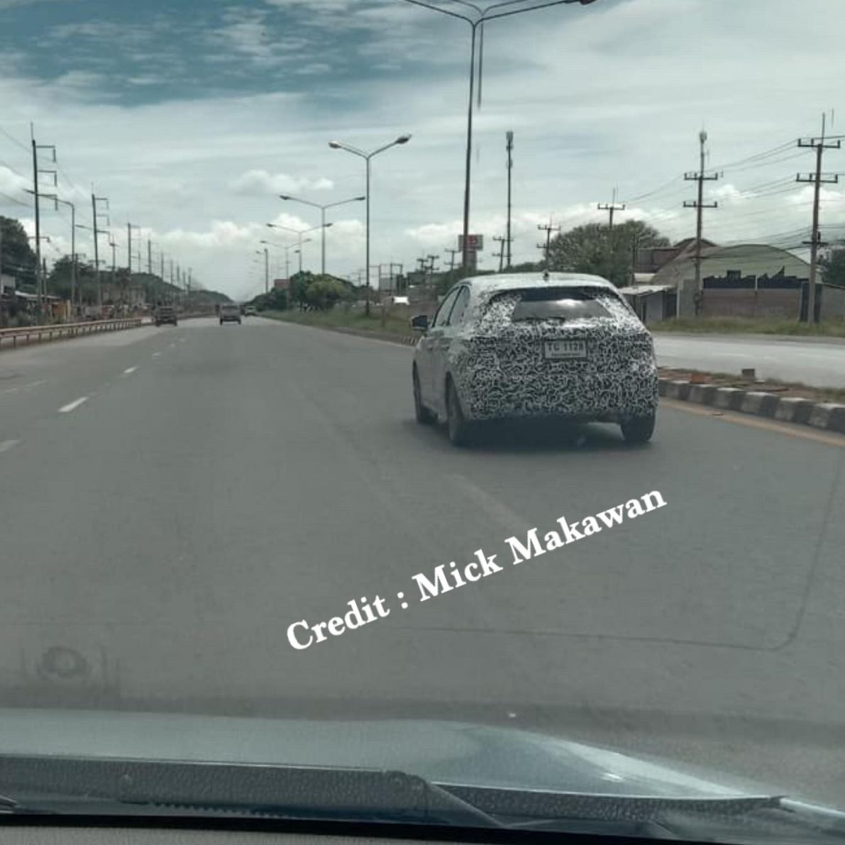 Honda City Hatchback Spotted Testing in Thailand 5