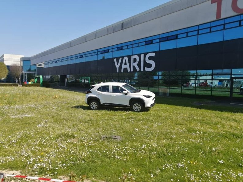 First Real-Life Images of 2020 Toyota Yaris Cross 1