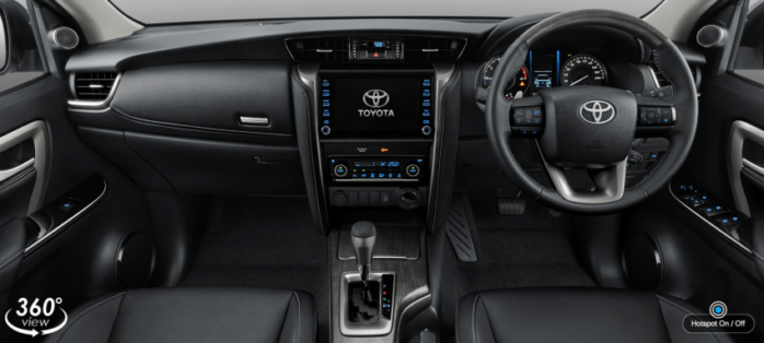 2020 Toyota Fortuner Facelift Debuts in Thailand 14
