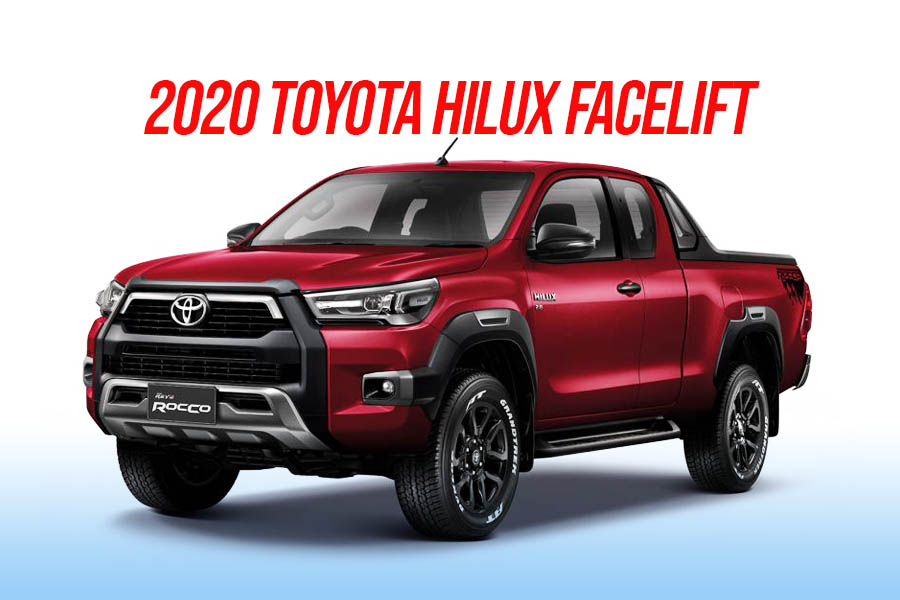 2020 Toyota Hilux Facelift Debuts in Thailand 3