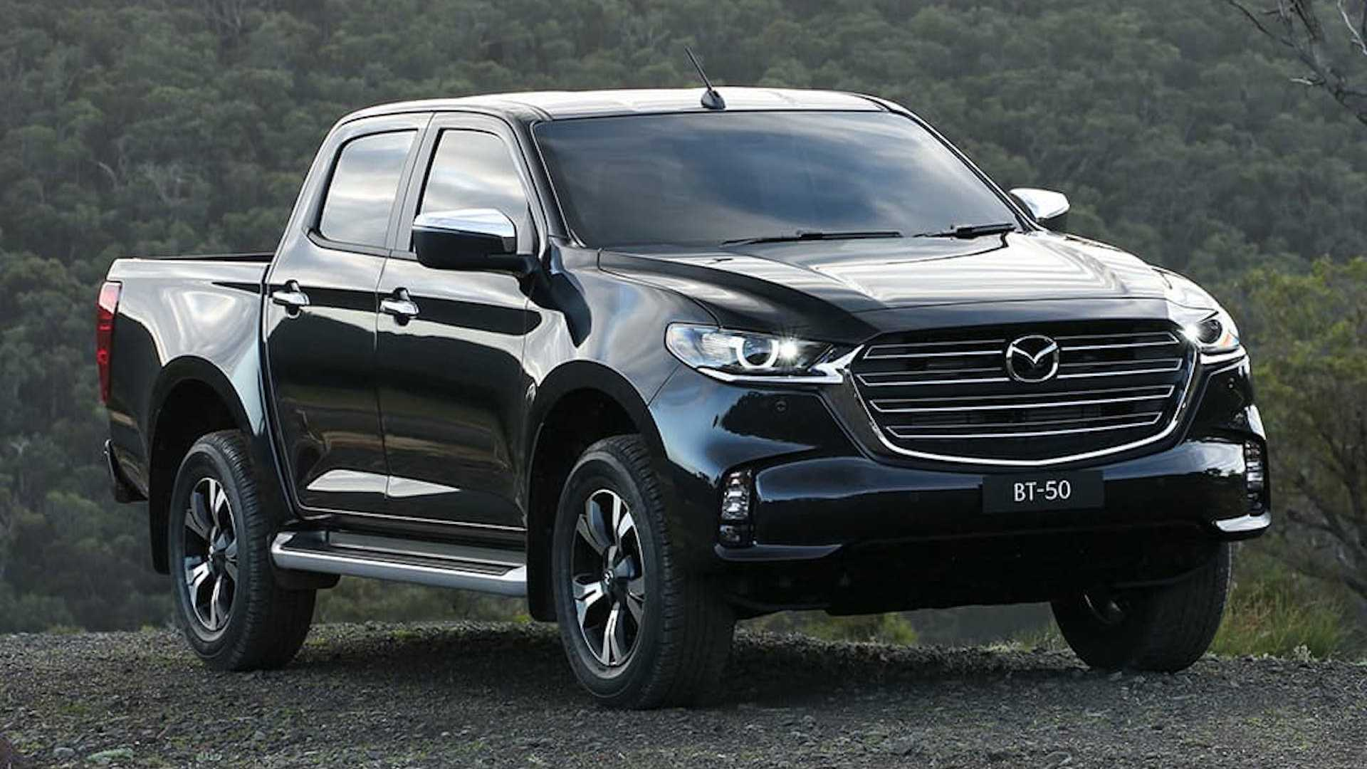 Mazda Reveals the All new BT-50 Pickup Truck 5