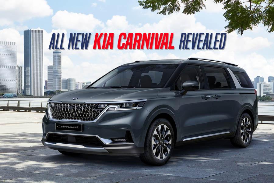 Fourth Generation Kia Carnival Revealed 7