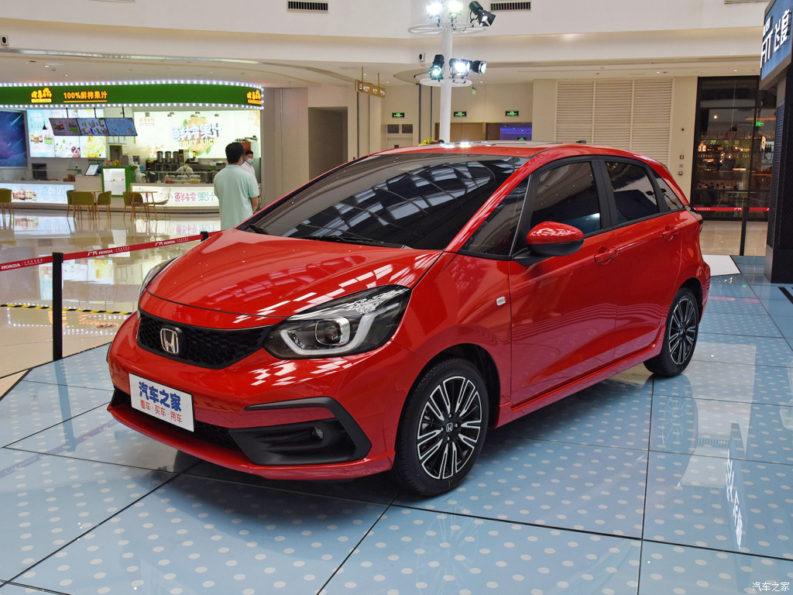 China-spec 2020 Honda Fit Unveiled 3