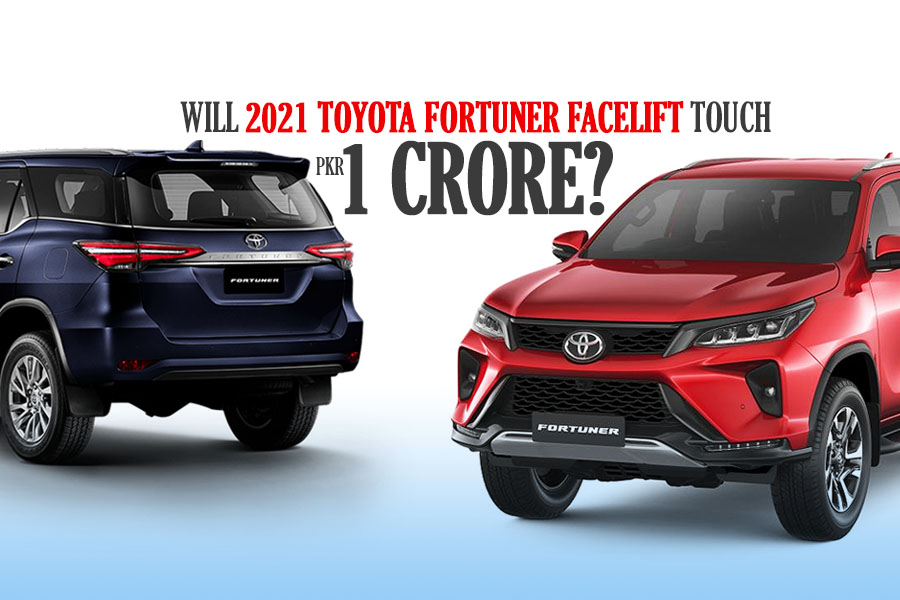 Will Toyota Fortuner Touch PKR 1 Crore Mark in Pakistan? 1