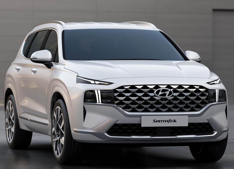 2021 Hyundai Santa Fe Facelift Unveiled 2
