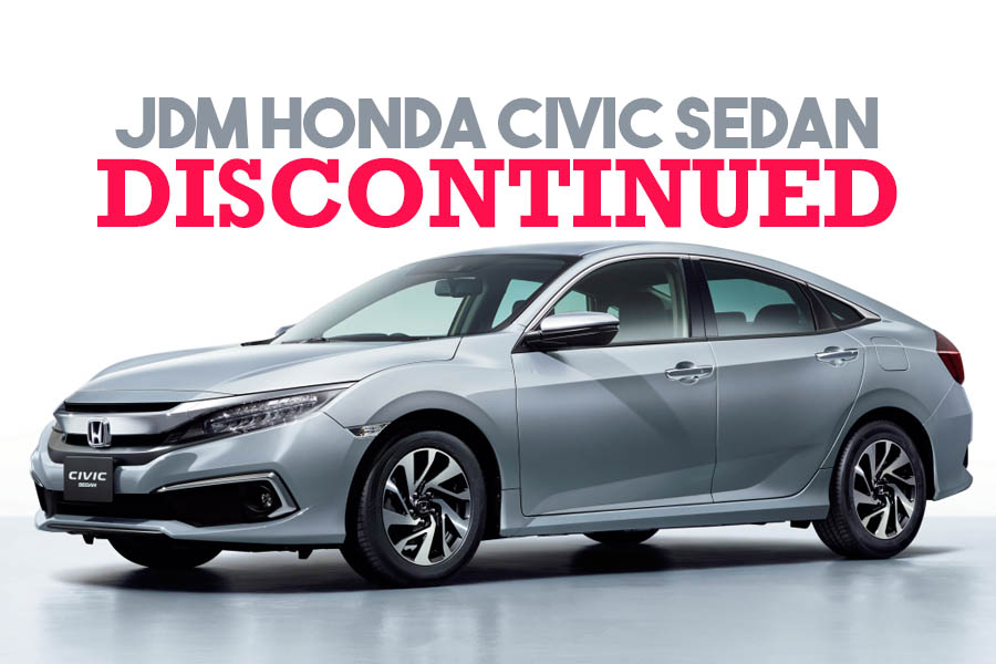 Honda Civic Sedan Discontinued in Japan 2