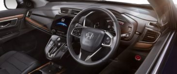Honda CR-V Facelift Launched in Thailand 4