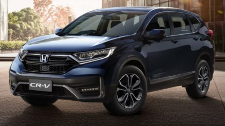 Honda CR-V Facelift Launched in Thailand 1