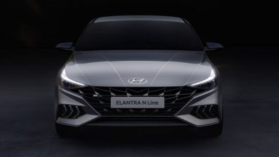 2021 Hyundai Elantra N Line Teased 2