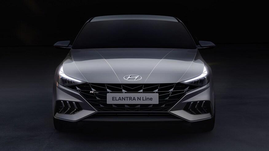 2021 Hyundai Elantra N Line Teased 10