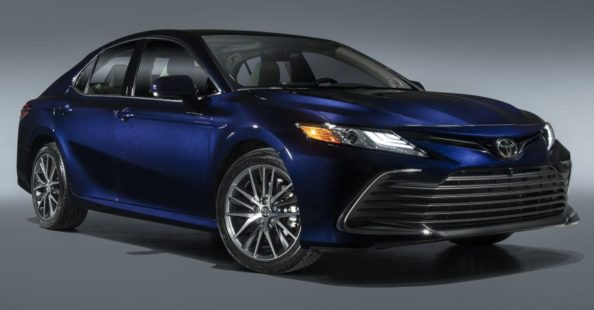 Toyota Camry Gets Facelift and Updated Features in USA 1