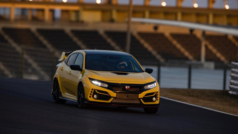 Final Edition Honda Civic Type R Sets FWD Lap Record 3