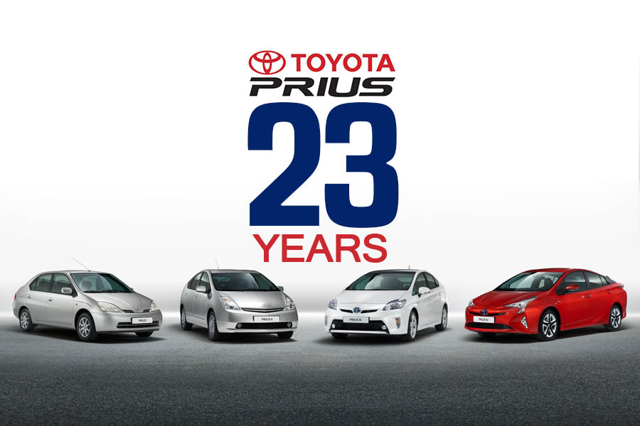 23 years of Toyota Prius 8