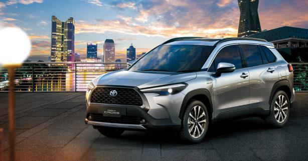 Toyota Corolla Cross Debuts in Thailand 12