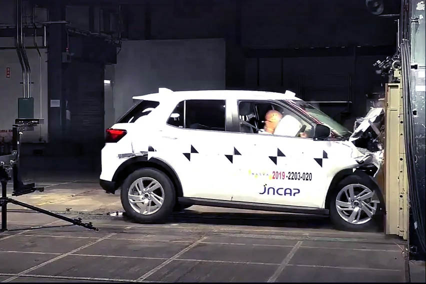 Daihatsu Rocky Awarded 5 Stars JNCAP Crash Test Rating 3