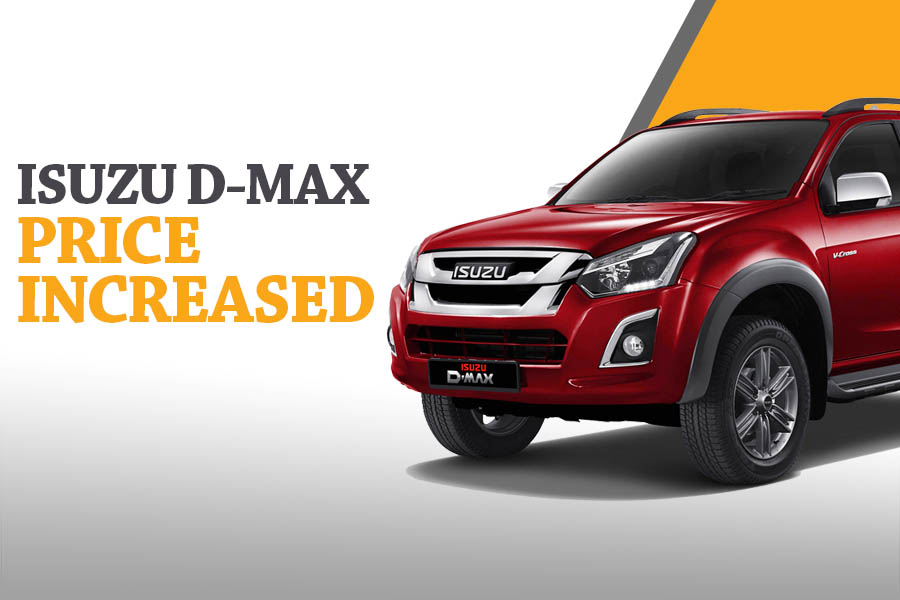 Isuzu D-MAX 4x4 Prices Increased 10