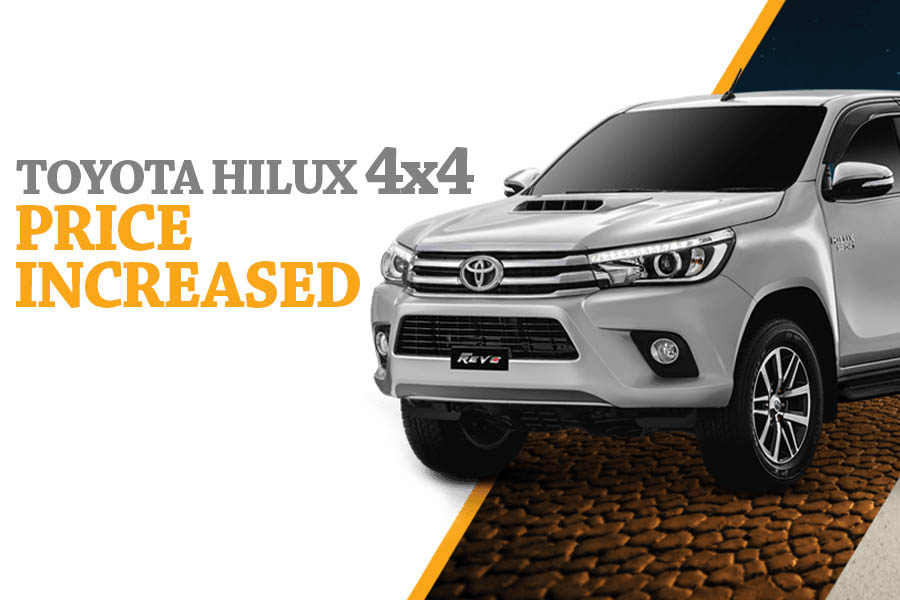 Toyota Hilux 4x4 Prices Increased 7