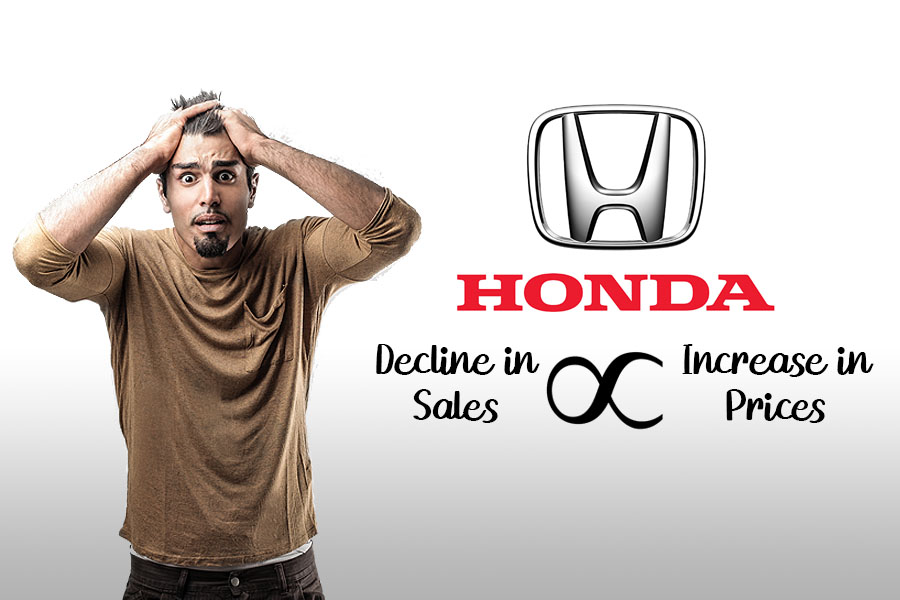 Honda Car Prices Again Increased by Up to Rs 100,000 10