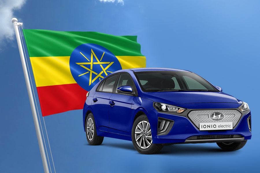 First Ethiopian Assembled Hyundai Ioniq EV Rolls off the Assembly Lines 2