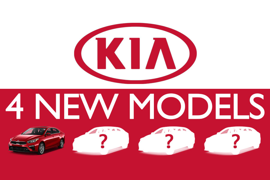 Kia to Launch 4 New Models by 2021 10