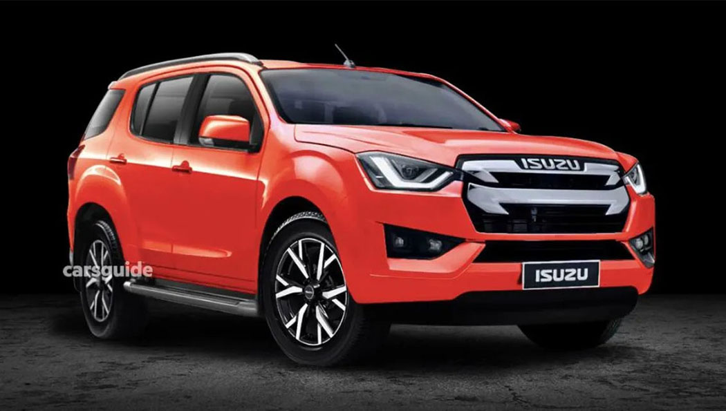 Next Gen Isuzu MU-X Rendered 3