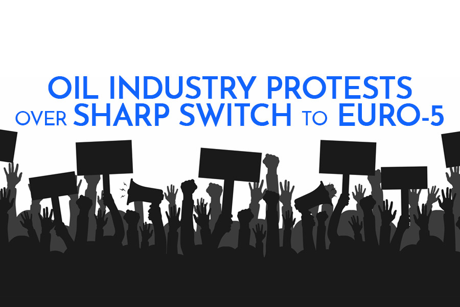 Oil Industry Protests over Sharp Switch to Euro-5 2