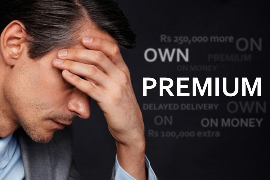 Hefty Premium Despite Cars Sales Down by 53% 6