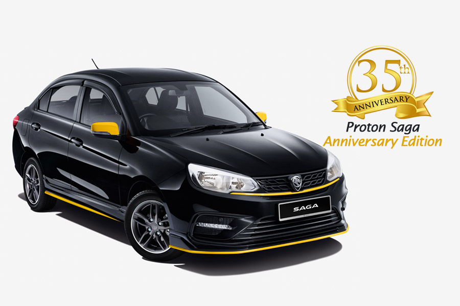 Proton Celebrates 35 Years of Saga with Special Anniversary Edition 10