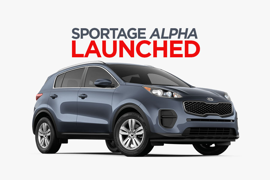Kia Introduces Sportage Alpha 5