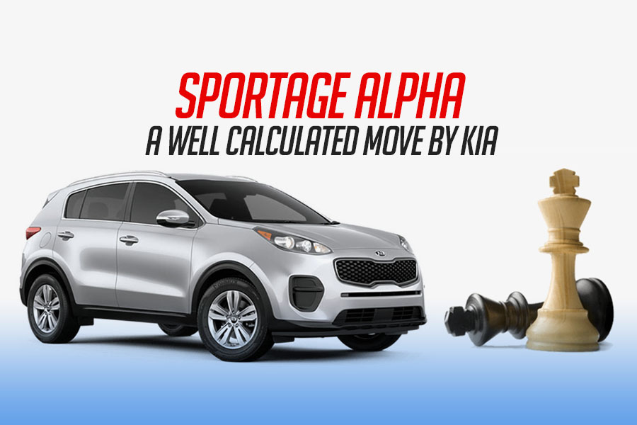 Sportage Alpha- A Calculated Move by KIA 4