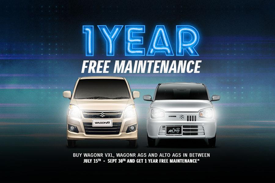 Pak Suzuki Offering 1 Year Free Maintenance on Selected Models 3