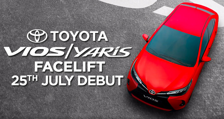 2020 Toyota Yaris/ Vios Facelift to Launch on 25th July 4