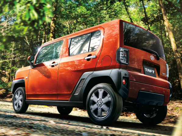 Daihatsu TAFT Goes on Sale in Japan 20