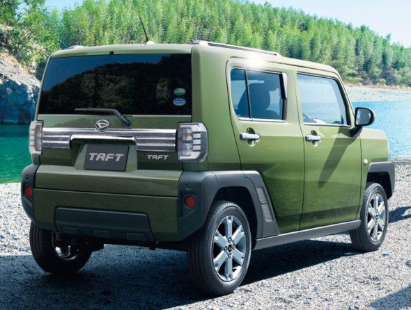 Daihatsu TAFT Goes on Sale in Japan 19