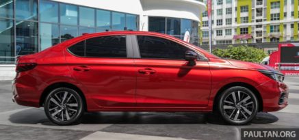 All New Honda City Previewed in Malaysia 4