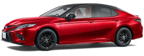 40th Anniversary Toyota Camry Black Edition Launched in Japan 6