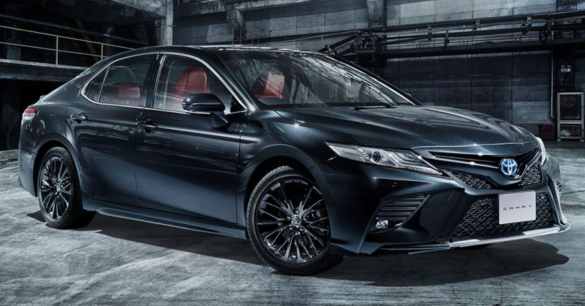 40th Anniversary Toyota Camry Black Edition Launched in Japan 3