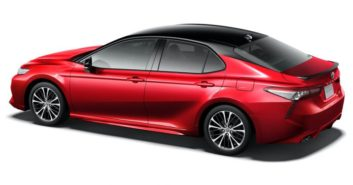 40th Anniversary Toyota Camry Black Edition Launched in Japan 7