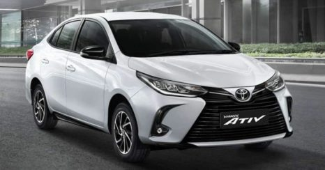 Toyota Yaris and Yaris Ativ Facelift Launched in Thailand 2