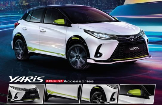 Toyota Yaris and Yaris Ativ Facelift Launched in Thailand 11