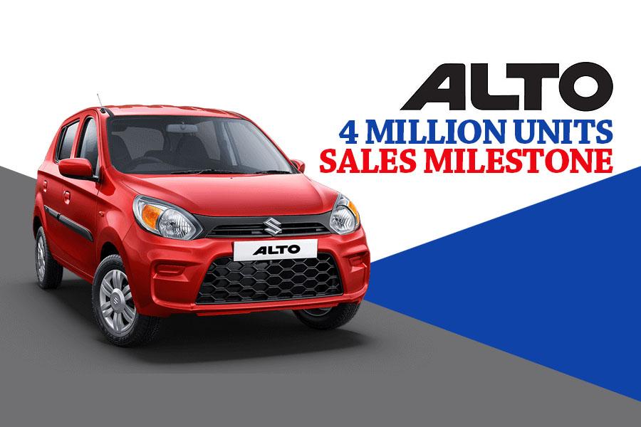 Alto Surpass 4 Million Sales Milestone in India 6