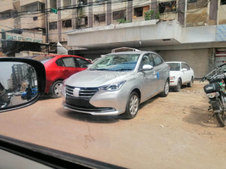 Changan Alsvin Sedan Spotted in Karachi 3