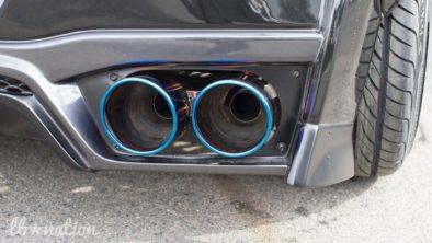 Daihatsu Copen Cosplays as Nissan GT-R 9